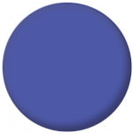 Plain Blue 58mm Fridge Magnet